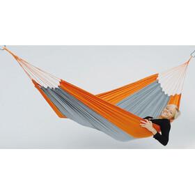 Amazonas Silk Traveller Hængekøje, orange/grå